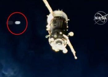 神秘發光球體直接撞上國際太空站