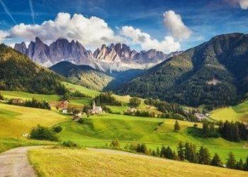 美麗安寧的美國鄉村。(網絡圖片)